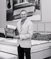 KAREL VÁGNER zakladatel společnosti Dreambeds