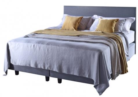 Důležitým faktorem, který ovlivňuje kvalitu spánku, jsou materiály, ze kterých jsou vyrobeny lůžkoviny. Ideální volbou jsou lůžkoviny ze 100% přírodních materiálů shodně jako zpracování postele Baronet (Vispring), ručně vyráběný sortiment, WWW.DREAMBEDS.CZ