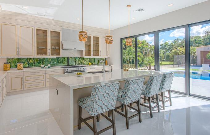 HANÁK nábytek interiér - kuchyň Vanilla ice