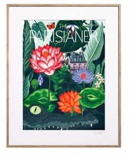Plakát s motivem fiktivní titulní strany časopisu The Parisianer z kolekce Utopies 2050 (Image Republic), 30 × 40 až 56 × 76 cm, cena na dotaz, WWW.STOCKIST.CZ