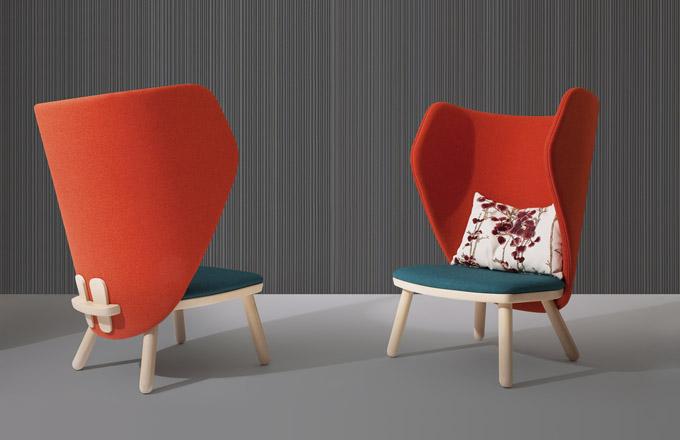 Křeslo Ikkoku (Blifase), design Davide Carlesi a Gian Luca Tonelli, 78 × 71 × 106 cm, cena od 25 955 Kč, WWW.BLIFASE.IT