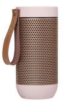 Přenosný reproduktor aFunk (Kreafunk), dosah Bluetooth 10 m, výdrž na baterie 20 hodin, výška 15 cm, cena 2 990 Kč, WWW.VEMZU.CZ