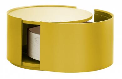 Allout (Novamobili), design Nova Lab, lakovaná ohýbaná překližka, O 54 cm, výška 30 cm, cena od 21 005 Kč, WWW. CASAMODERNA. CZ