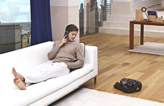 Robotický vysavač VR9300 (Samsung), se sacím výkonem 42,9 W, Aplikace Select & Go™ pro vymezení sání, cena 26 990 Kč, www.samsung.com/cz