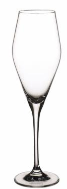 Sklenice na šampaňské La Divina (Villeroy Boch), obsah 0,26 l, křišťálové sklo, cena 235 Kč, www.popasta.cz