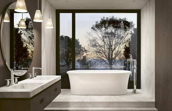 Realizace koupelnového konceptu Glamour Chic (studio Pitre´Bathroom), WWW.JPITRE.COM