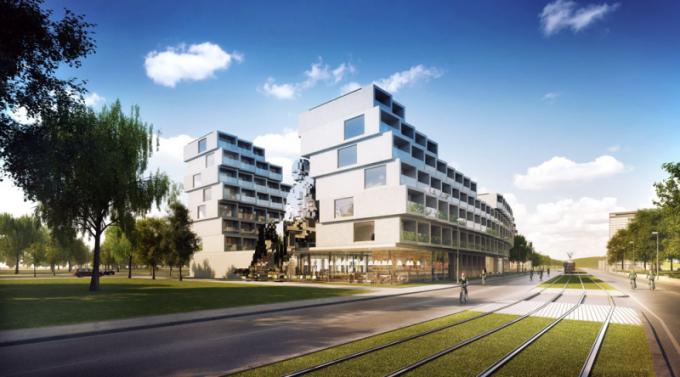 Rezidence Invalidovna, investor TRIGEMA a. s., autor projektu QARTA Architektura, design David Černý Black n'Arch Studio, WWW.QARTA.CZ