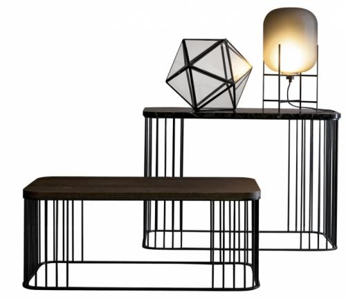 Odkládací stolky Rodi (Twils), kov, 40× 80 × 30cm a40 × 80 × 53cm, cena nadotaz, www.edilportale.com