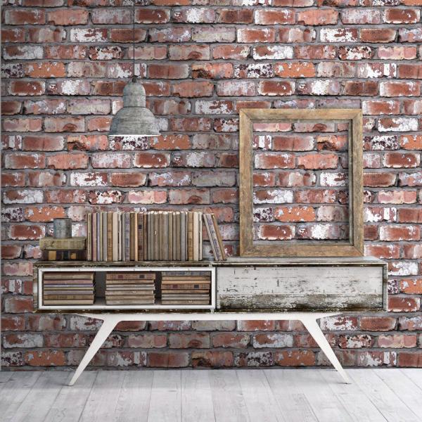 Dekorativní tapeta Brick (Arthouse), papír, 100 × 53cm, cena 512Kč, WWW.WALLPAPERWEBSTORE.COM