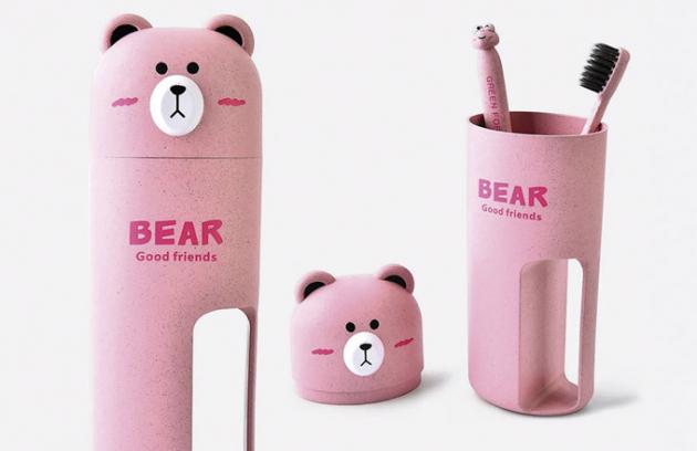 Sada pro ústní hygienu Home Bear, cena 4,38 $, www.amazon.com