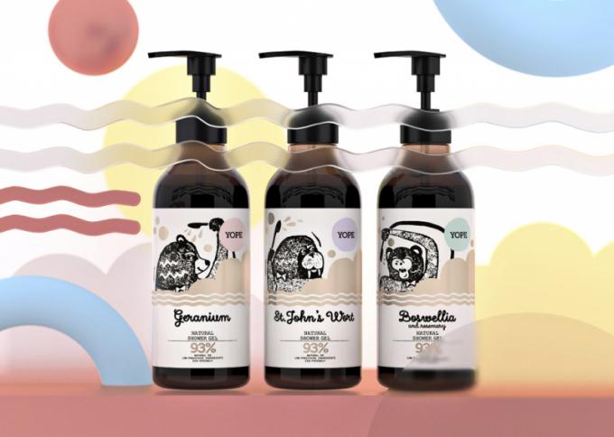 Sprchové gely Natural (Yope), různé vůně,cena 219Kč, www.econea.cz
