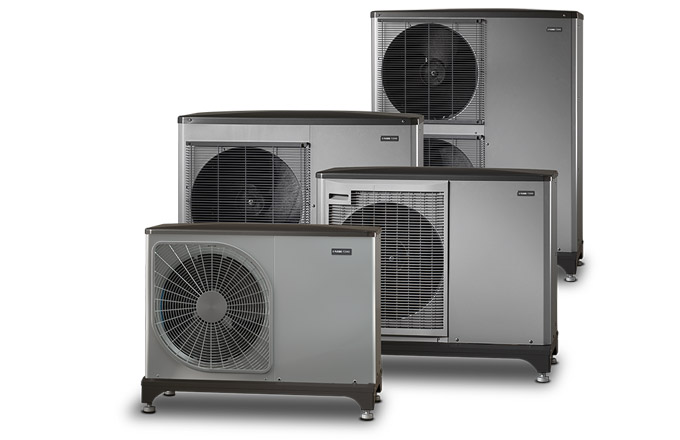 Tepelná čerpadla systému vzduch-voda NIBE F2040