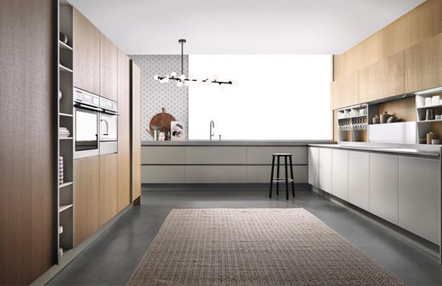 Kuchyňský koncept Emetrica (Ernestomeda), design Andreucci and Hoisl, výběr materiálů dle preference zákazníka, cena dle konfigurace, WWW.CSKARLIN.CZ
