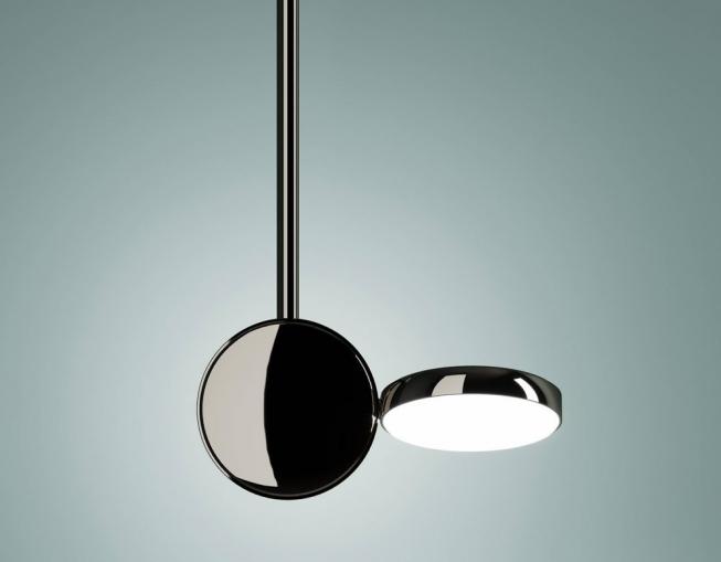 Optunia (Fontana Arte), design Claesson Koivisto Rune, stínidlo lze otáčet o360°,  sklo akov, cena od25918Kč, www.aulix.cz