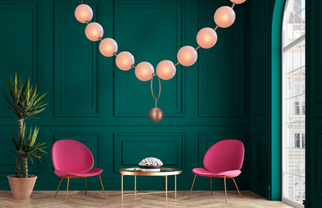 Svítidlo jako pocta návrhářce Coco Chanel