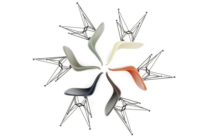 Eames Fiberglass Chair DSR, cena 15 219 Kč, k dostání na DesignVille.cz