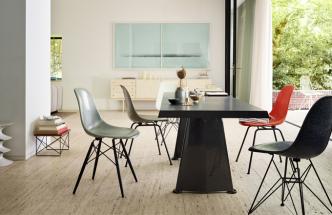 Eames Fiberglass Chair DSW, DSX a DSR, k dostání na DesignVille.cz