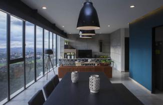 Obrazem: Apartmán v Novém Mexicu
