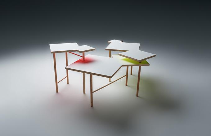 Designér Yo Shimada: Stůl Utsuri Table