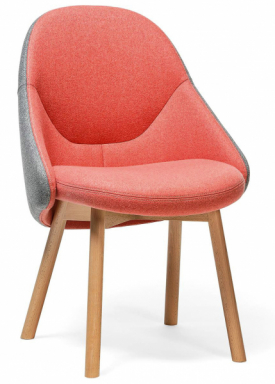 Křeslo Alba (TON), design Alex Gufler, získalo mnohá ocenění zadesign, cena 17190Kč, www.ton.eu