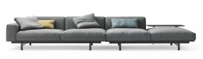 Yard (Lema Mobili), design Francesco Rota, látkové čalounění, integrovaný odkládací stolek, cena na dotaz, WWW.STOCKIST.CZ