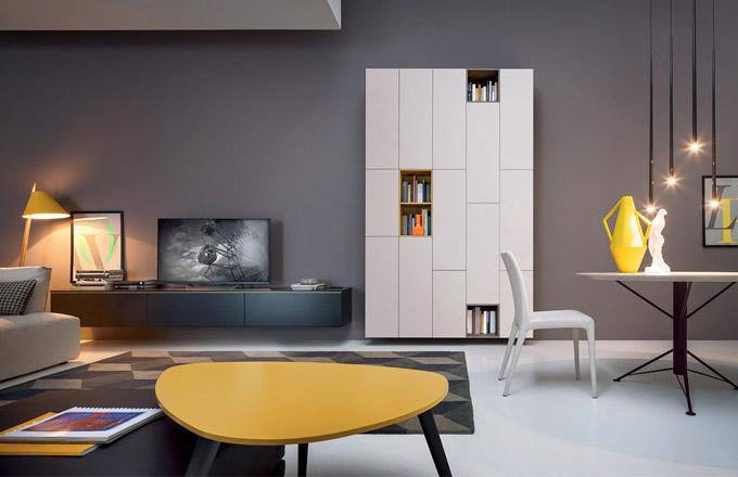 Odkládací stolek Up (Novamobili), design Studio Gherardi, více barevných možností, 102 × 86 × 48cm, cena na dotaz, WWW.CASAMODERNA.CZ