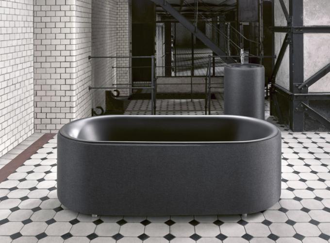 Volně stojící ocelová vana zřady Oval Silhouete (Bette), cena od73000Kč, www.perfecto.cz