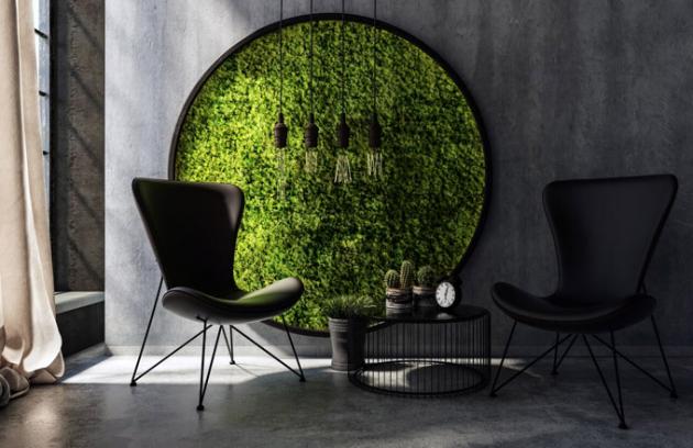 Mechové obrazy od firmy NĚMEC dopřejí vašemu interiéru harmonický kousek přírody