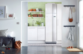 Může být rodinný dům zcela soběstačný? Nové technologické jádro s tepelným čerpadlem to umožní
