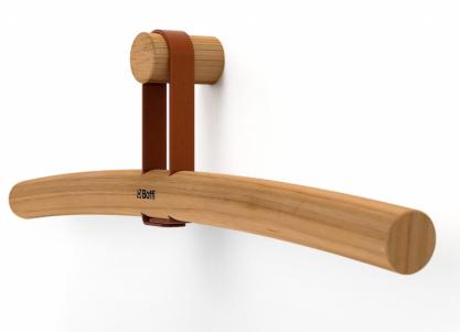 Ramínko Twig (Boffi), design Keiji Takeichi, dřevo, kůže, cena nadotaz, www.konsepti.com