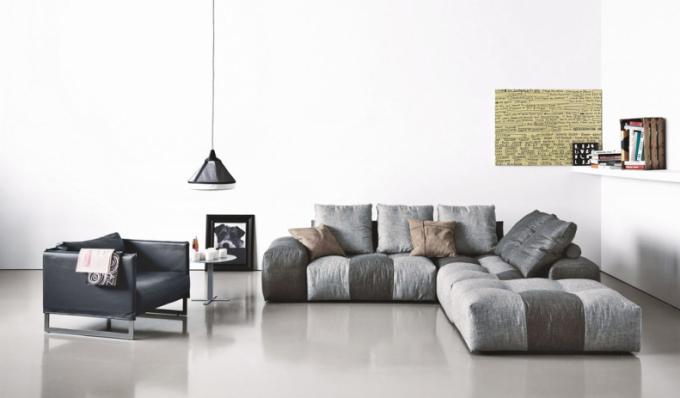 Multifunkční sezení Pixel (Saba), design Sergio Bicego, látkové čalounění, cena od 166452Kč, www.stockist.cz