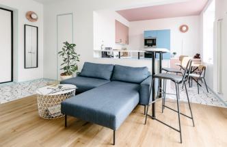 Moskevský byt ve skandinávském stylu