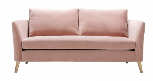 Sofa Elis (Sits), sametové čalounění, 162× 80 × 45cm, více variant řešení ičalounění, cena nadotaz, www.sits.eu