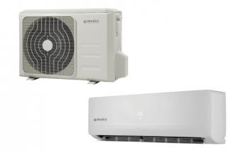Vnější a vnitřní jednotka dražické klimatizace AIR
