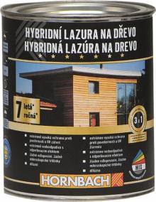 Hybridní lazura na dřevo