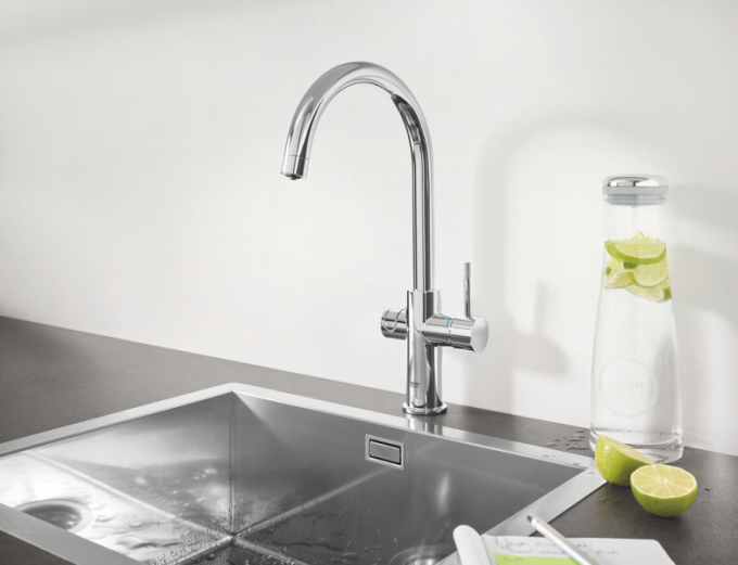 GROHE Blue Professional pro kanceláře: Filtrované vodní potěšení jediným dotykem