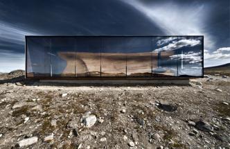 Tverrfjellhytta, Norwegian Wild Reindeer Pavilion, Photo Credit - diephotodesigner.de OHG