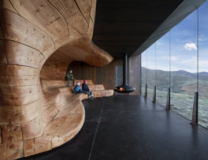 Tverrfjellhytta, Norwegian Wild Reindeer Pavilion, Photo Credit - Ketil Jacobsen