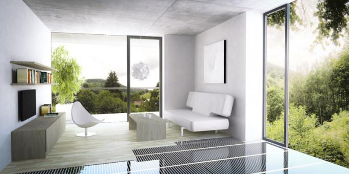 Podlahové vytápění Ecofilm (Fenix Group), tenká topná fólie, cena od280Kč, www.fenixgroup.cz