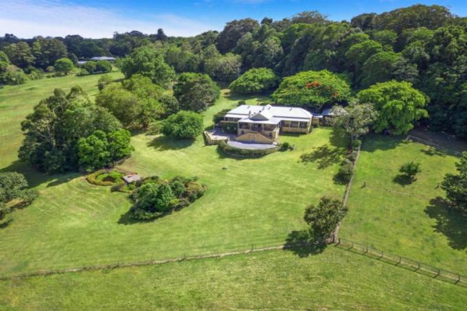 Australská farma zpěvačky Olivie Newton-John