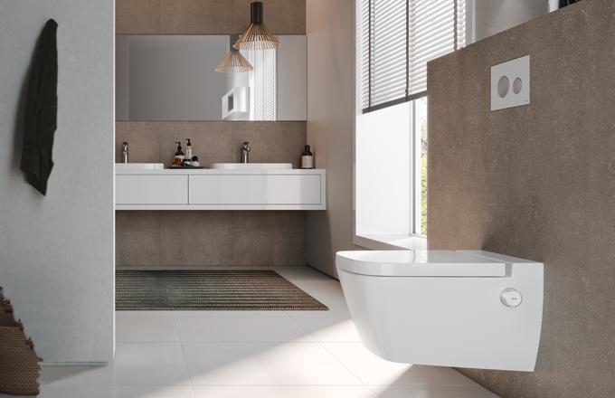 Sprchovací toaleta TECEone představuje revoluční prvek do všech moderních koupelen. TECEone totiž nevyžaduje připojení na elektřinu, neobsahuje žádná složitá zařízení, snadno se instaluje i udržuje.