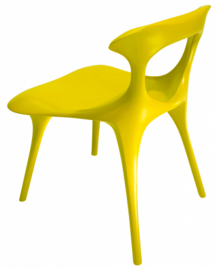Židle Gu (Sawaya and Moroni), design Ma Yansong & MAD Architects, polypropylen  vyztužený skelnými vlákny,  www.archello.com