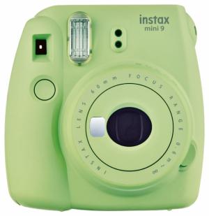 Instantní fotoaparát Mini 9 (Instax – Fujifilm), světle zelený odstín, cena 1799Kč, WWW.VEMZU.CZ