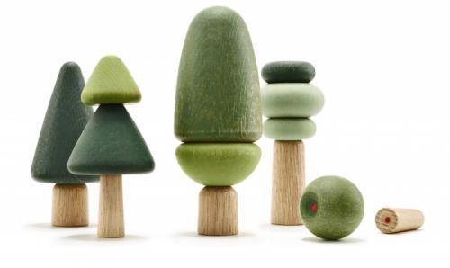 Dekorace Tre (UUIO), sada 14kusů zkvalitního dubového dřeva, cena cca 2290Kč, WWW.SHOP.UUIO.DE