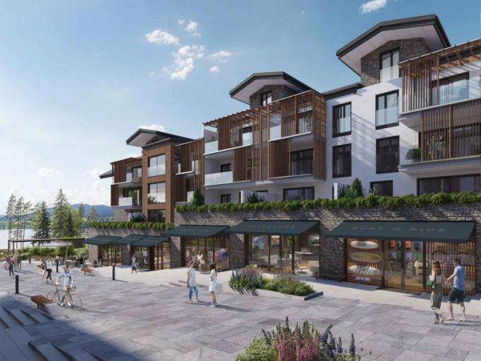 V rámci výstavby MOLO Lipno Resortu, jehož inspirací byly horské luxusní apartmány v Davosu či Aspenu, vznikne 79 exkluzivních bytů (apartmánů) včetně podkrovních penthousů s výhledy na vodní hladinu nebo do vnitrobloku se zahradou, pětihvězdičkový hotel s více než stovkou pokojů, s kongresovým sálem o kapacitě 300 osob, prémiovým Wellness a SPA, privátním Beach Clubem a relaxační zahradou. Resort se stane součástí nového centra obce Lipno nad Vltavou.