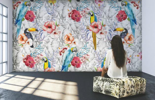 V tapetách kolekce Infinita primavera, kterou nedávno představila italská společnost Instabilelab, tomu není jinak. Motivem dekorativních tapet je nikdy nekončící jaro a svěží příroda.