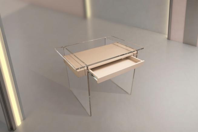 Stolek CASPER (kolekce FORMITABLE, design Wael Farran Studio)