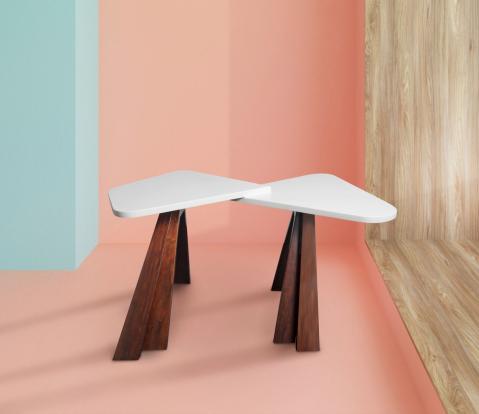 Odkládací stolek COQUETTE (kolekce FORMITABLE, design Wael Farran Studio)