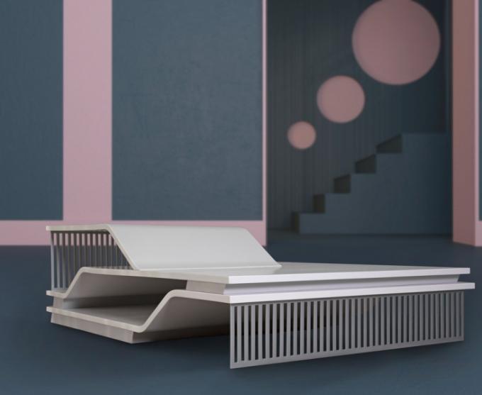 Konferenční stolek ELEVATIONS (kolekce FORMITABLE, design Wael Farran Studio)