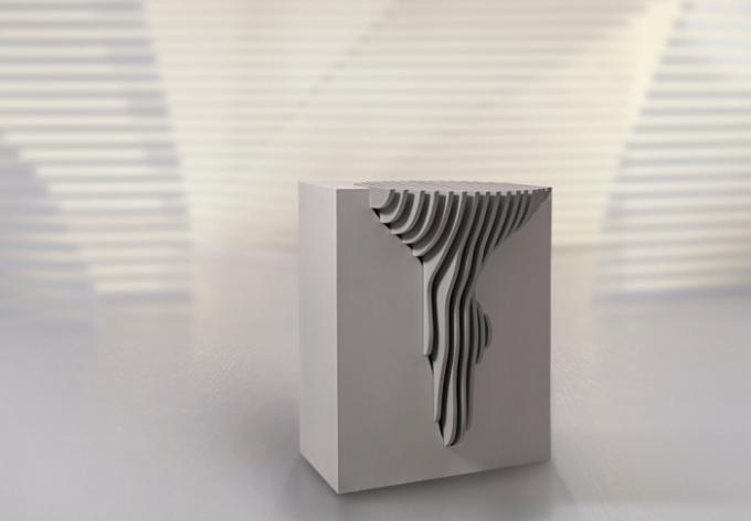 Odkládací stolek MYSTERY (kolekce FORMITABLE, design Wael Farran Studio)